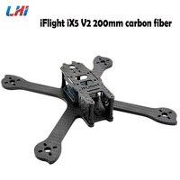 Orginal iFlight iX5 V2 200mm carbon fiber FPV Racer frame kit with 28mm M3 Standoff/camera side plate for FPV Racing Drone kit