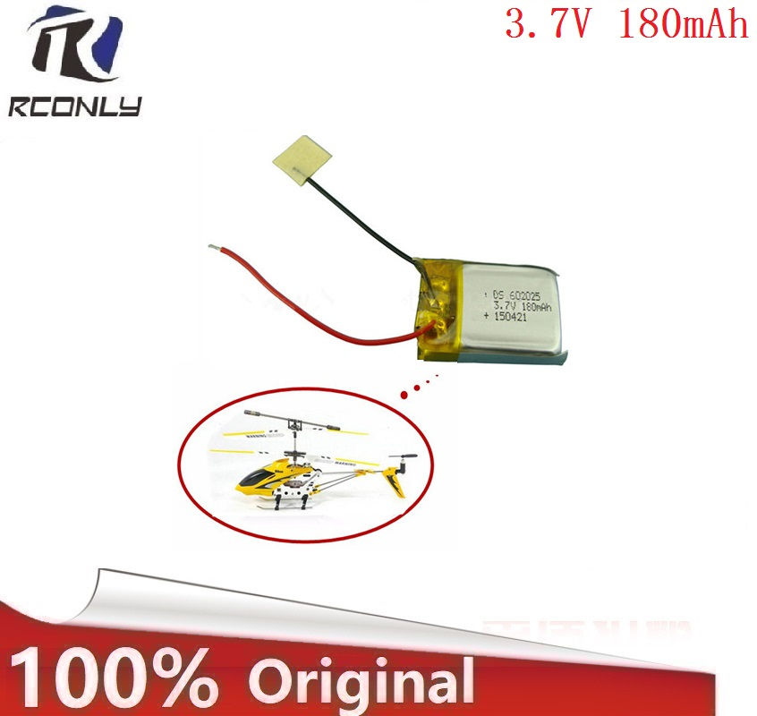 3.7V 180mAh Battery for Syma S107 S107G Skytech M3 m3 Replacement Spare Parts for Syma Skytech RC Helicopter цена