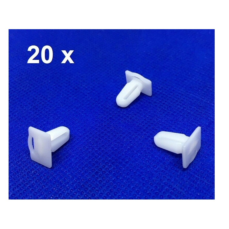 20 Pieces Door Sill Plate Side Moulding Clip for <font><b>BMW</b></font> <font><b>E21</b></font> <font><b>E30</b></font> E36 51471840960OE image