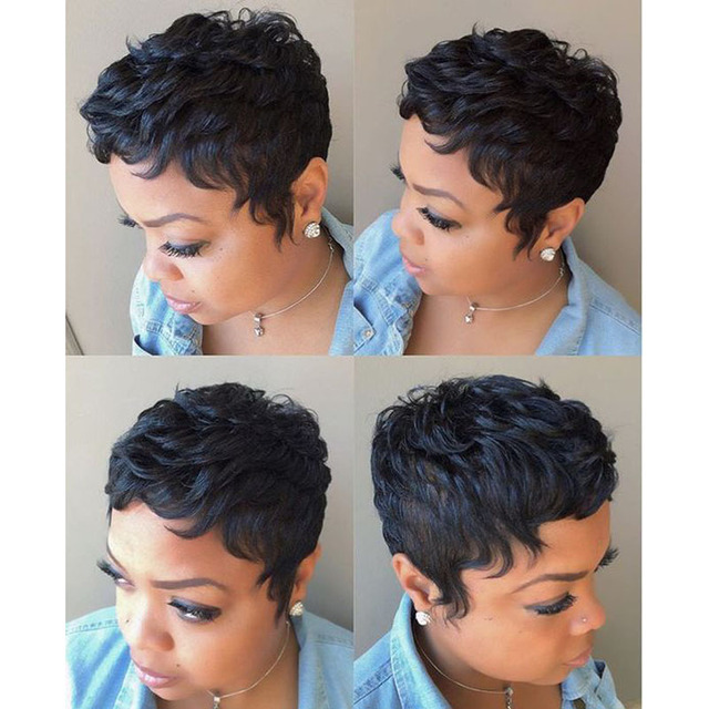 Aliexpresscom : Buy 27 Pieces Short Human Straight Hair - Cute Quick Weave Hairstyles