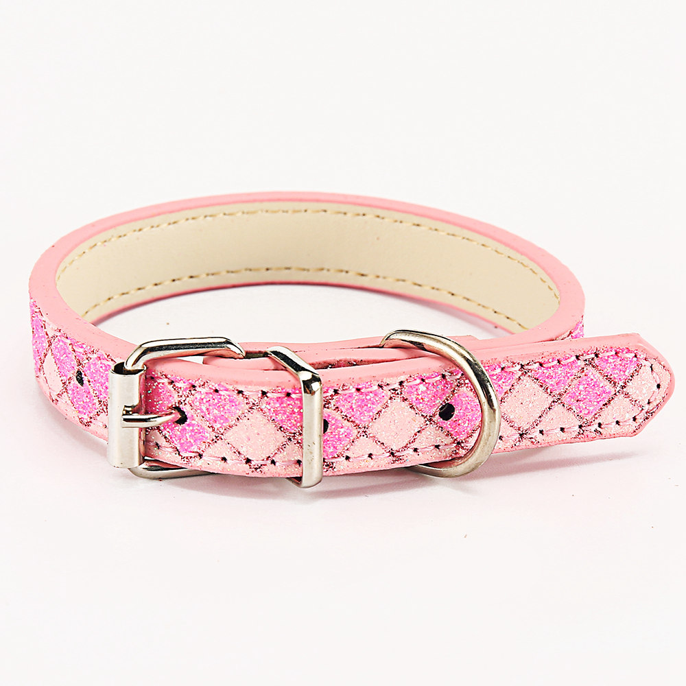 Plaid Pet Collars For Small Large Leashes Dogs Collars Basic Training Leashes For Large Dogs Collar (21)