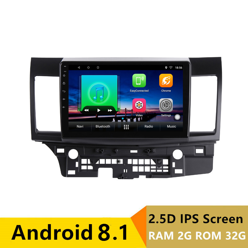"10.1"" 2G RAM 32G ROM Android Car DVD Video Player GPS For MITSUBISHI LANCER 2008-2016 audio car radio stereo navigation wifi"