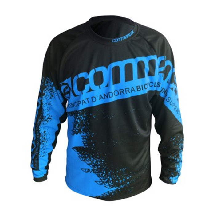 2018 Speed Mountain Bike Riding Jersey Dry Riding Off-road Long Sleeved T-shirt offroad Mountain Bike DH downhill Jersey