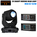 TIPTOP 132W 2R Beam Moving Head Light Professional Stage Light 2R Sharpy Beam MSD R2 132W White Color DMX 14 Channels 110V-240V