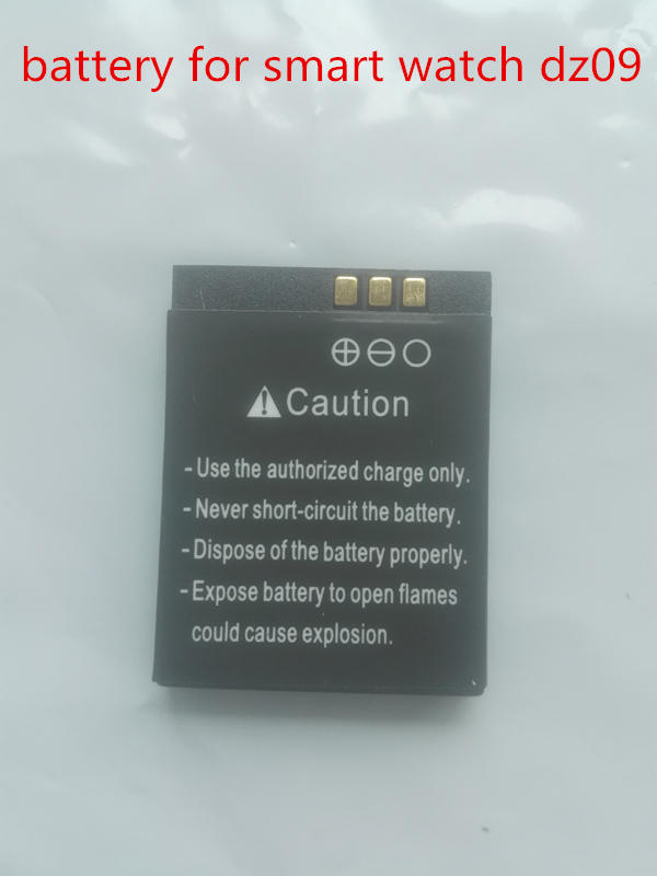 D'origine rechargeable Li-ion Batterie Pour Montre Intelligente dz09 Montre Smart Watch Batterie Batterie De Remplacement Pour Smart Montre dz09
