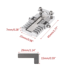 цена на Universal Stainless Steel Key Clamping Fixture Duplicating Cutting Machine For Car Key Copy Tool