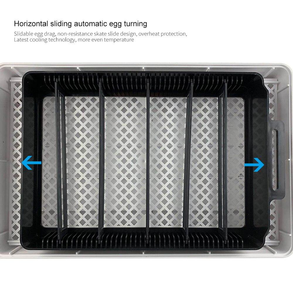 12 яиц автоматический цифровой инкубатор для яиц Домашний Мини инкубационный инкубатор курица утка инкубатор инкубационная машина - 4