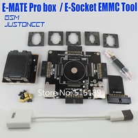 E mate box Emate pro box E Socket EMMC TOOL 6 in 1 No weldin BGA 153/169, BGA 162/186,BGA 529, BGA 221+SD reader 3.0