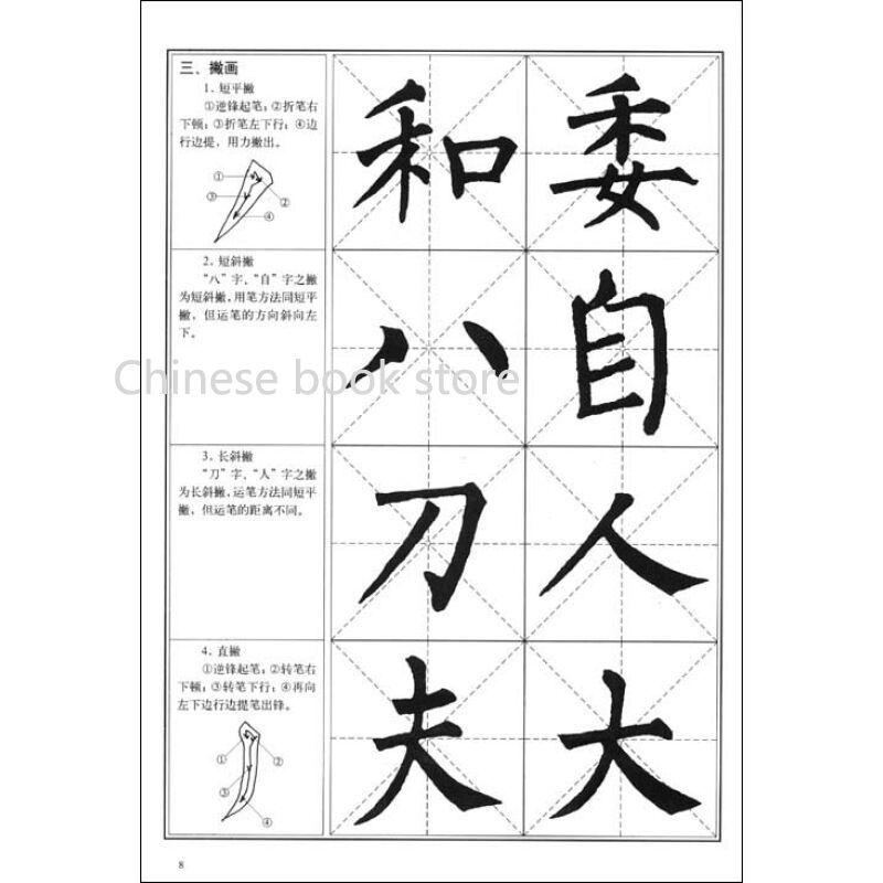Chinese Calligraphy Tutorial Copybookliu Gongquan Brush Regular Script Book For Beginners Traditional Word In Books From Office
