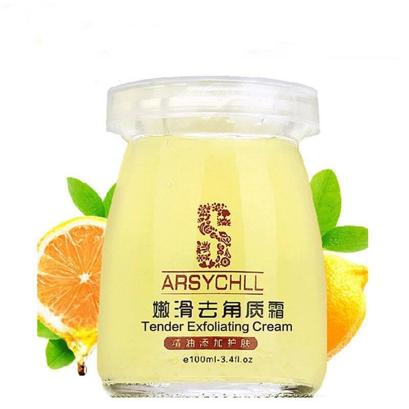 Free Shipping Exfoliator Skin Whitening Cream gentle Exfolias