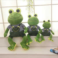 New 40cm 60cm 70cm Large Size Soft Animal Cartoon Pillow Cushion Cute Frog Plush Toy Stuffed Dolls Lovely kids Birthday Gift