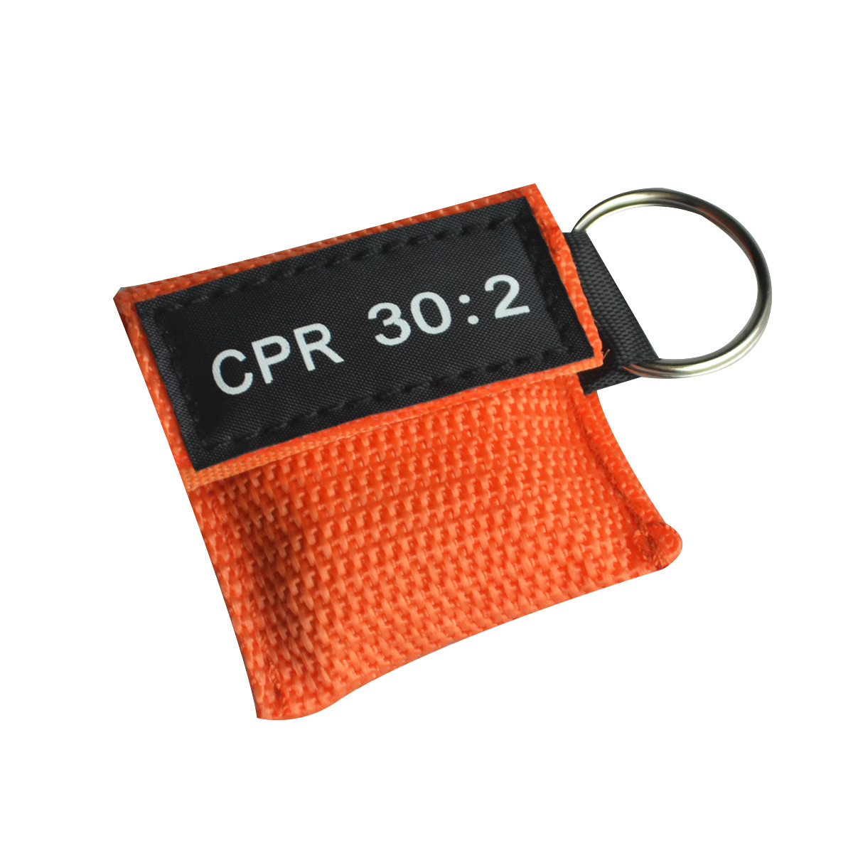 100 pcs CPR หน้ากาก Resuscitator One   way วาล์ว Life Key Skill การฝึกอบรมกระเป๋า Mask Face Guard Health Care Tool สีส้ม-ใน หน้ากาก จาก ความงามและสุขภาพ บน   1