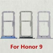 Две SIM карты держатель для карт для Huawei Honor 9 Honor9 слот для sim-карты Сменные Запчасти для лотков