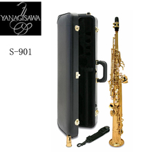 New Arrival 2017 Japan YANAGISAWA S-901 Soprano Saxophone High Quality Yanagisawa Straight B flat Sax Free Shipping