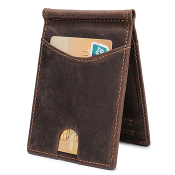 Leather Genuine Vintage Wallet