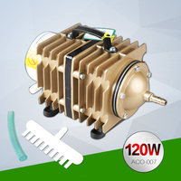 120W 90L Min SUNSUN ACO 007 Aquarium Fish Tank Electrical Magnetic Air Pump Aquaculture Hydroponics Pond