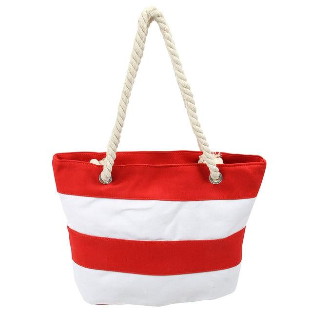 Для женщин пляжные Сумки-холсты мода полосы печать Сумки дамы большая сумка  Мужская тотализаторов Повседневное 2b98d0bc6ae