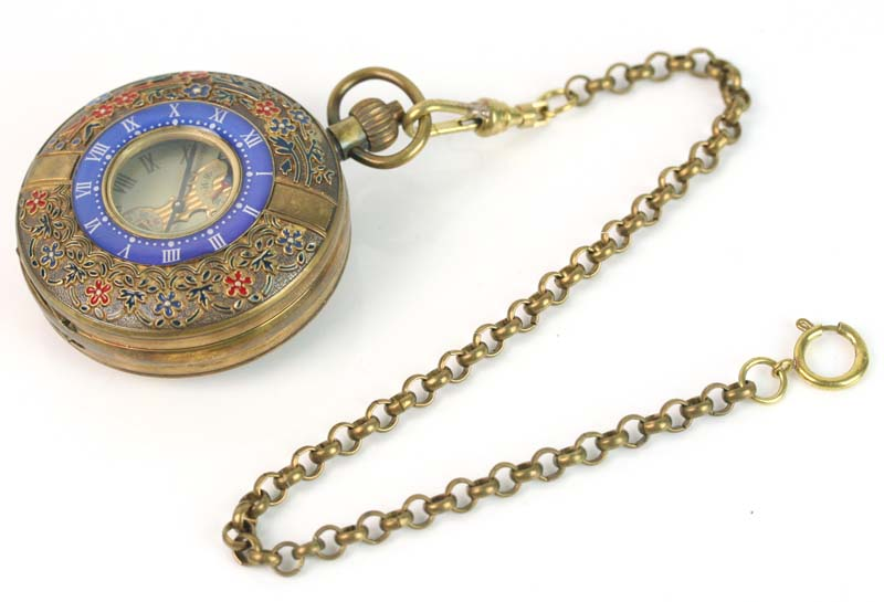 лучшая цена wholesale 55mm ARCHAIZE BRASS Imperial palace ROMAN NUM MECHANICAL POCKET WATCH