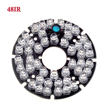 GADINAN Wholesale Infrared 48pcs leds 5mm IR LED board for CCTV cameras night vision (diameter 60mm)