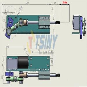 Image 5 - Design FAI DA TE DC 24V Attuatore Lineare Alternativo Elettrico Ictus Motore + Potenza di Commutazione di Alimentazione 110V 240V + Regolatore di Velocità PWM