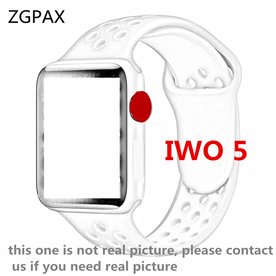 Bluetooth Smart Watch 1:1 IWO 5 SmartWatch Case for Apple iOS iPhone Xiaomi Android Smart Phone NOT Apple Watch IWO 3 4 Upgrade