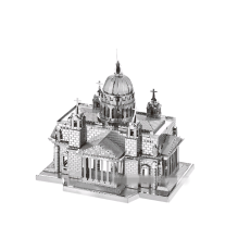 3D Metal Model Puslespill DIY Puslespill Jigsaw Kit For Voksne Barn Educational Collection Leker kirke