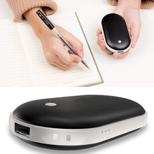 Мини ThreeLeaf перезаряжаемый грелка для рук 5200mAh электронный портативный мгновенный нагрев удобный карманный нагреватель# WS