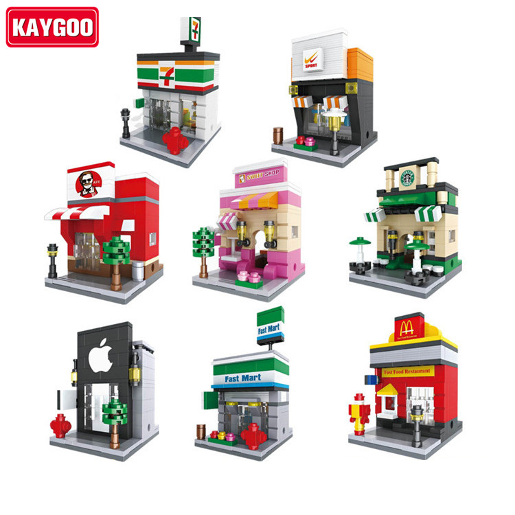 Kaygoo Scene Building Blocks DIY Building Toys Archs