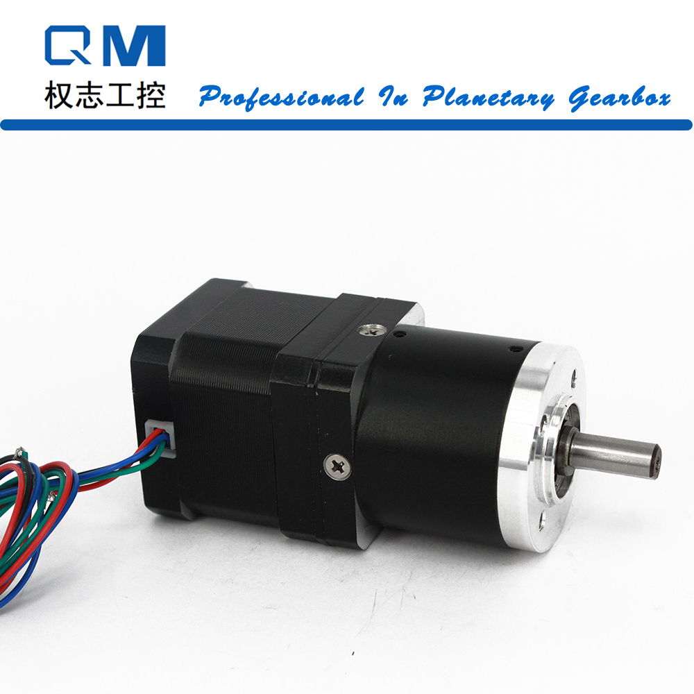 Nema 17 stepper motor L=40mm with planetary reduction gearbox ratio 15:1  cnc robot pump dental endodontic root canal endo motor wireless reciprocating 16 1 reduction
