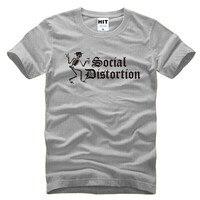 SOCIAL DISTORTION Heavy Metal Punk Rock Mens Men T Shirt Tshirt 2016 New Fashion Short Sleeve