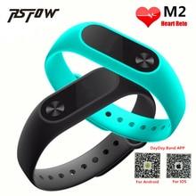 Rsfow Новый M2 смарт-браслет сердечного ритма Мониторы Bluetooth SmartBand здоровья Фитнес трекер умный Группа Браслет для iOS и Android