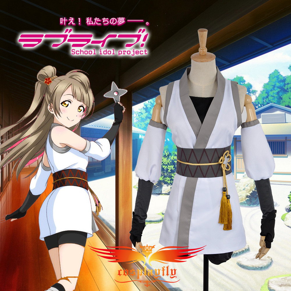 Unawakened Ninja Shinobi Eli Ayase Cosplay Custom Costume Custom Love Live