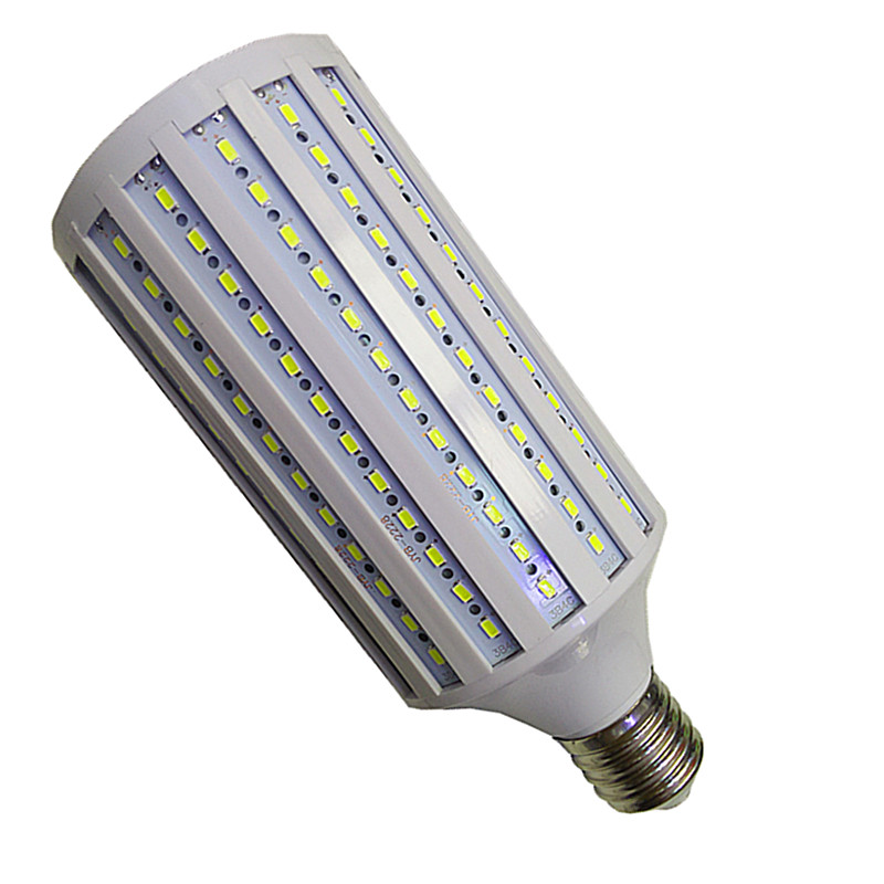 80W LED bulb E40 5730 SMD 216 Leds 85-265V Corn Lamp High brightness AC110V/220V Maize Light Home Indoor Outdoor street lighting 15w led corn light universal voltage ac 90 277v e27 e26 or e40 bulb maize light home indoor lighting street lamp smd 2835