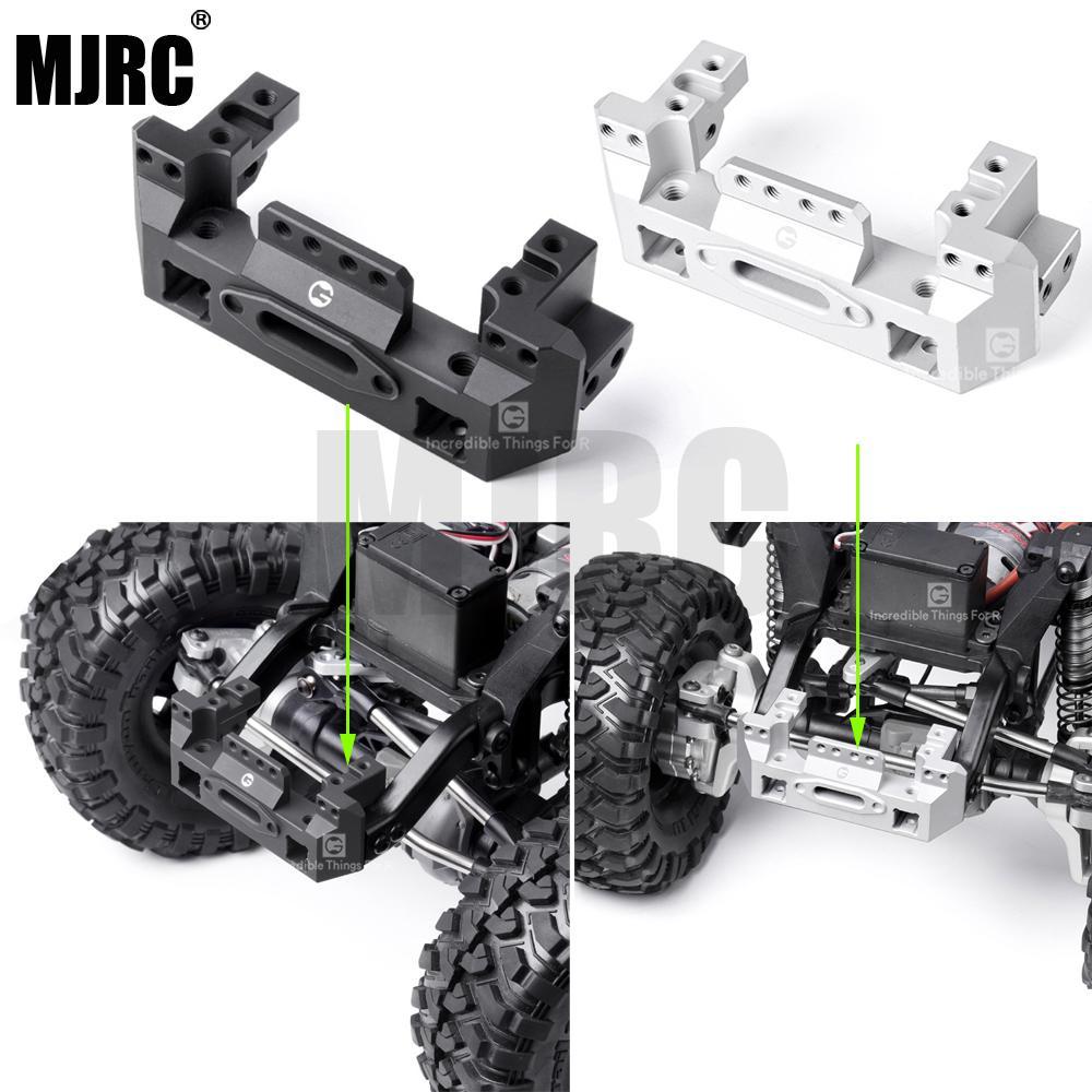 For Traxxas TRX-4 Upgrade Front METAL BUMPER BRACKET Lightweight Aluminum Silver
