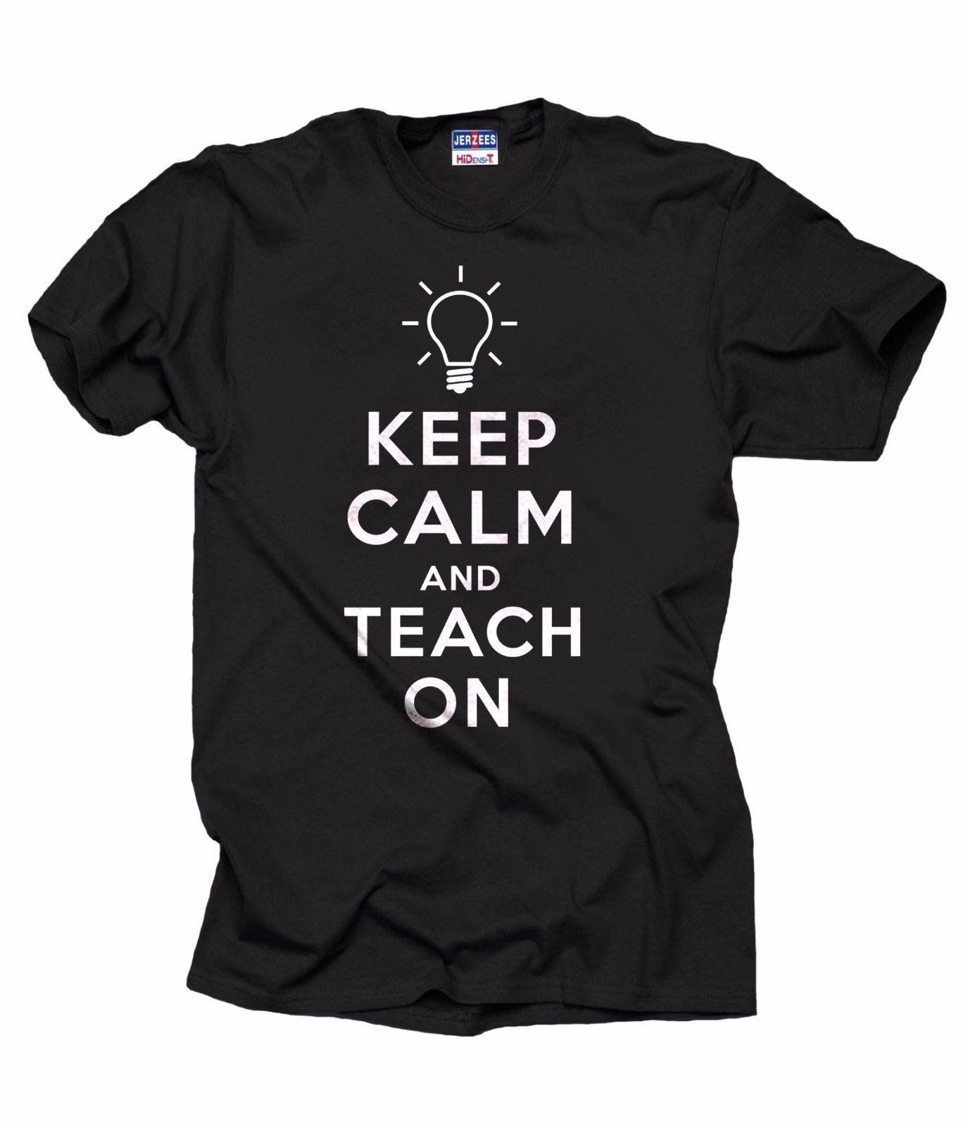 Keep Calm And Teach ON T-Shirt Gift For Teacher Back To School Shirt