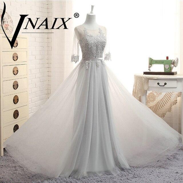 DB029 Elegante Pizzo Tre Stili di Abiti da sposa 2018 In Archivio  Pieghettato Foto Reale Vestito 5722b4f42c9f