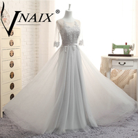 DB029 Elegant Three Styles Bridesmaid Dress Lace With Pleated Real Photo Formal Prom Party Dress Cheap
