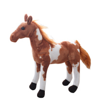 цены Plush Simulation Horse Toy 4 Styles Stuffed Animal Doll Baby Kids Birthday Gift  High Quality Toy