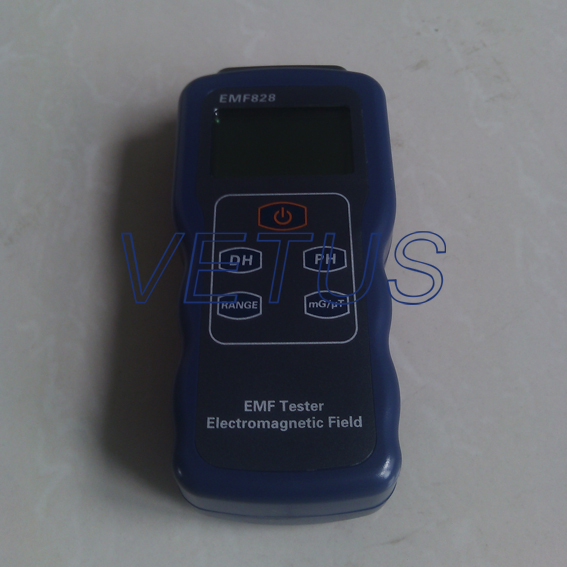 Professional Field intensity Indictor of Low Frequency Emf Meter EMF828, ELECTROMAGNETIC FIELD TESTER 0.1-400mG,1-4000mG