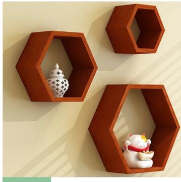 Solid Wood Shelf Hanging On The Wall. The TV Setting Wall, Decorative Frame