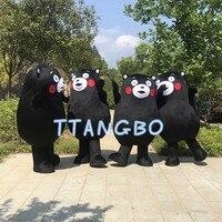 Новый высокое качество распродажа rilakkuma Кумамон медведь маскоты Костюм Аниме косплэй панда Рождество Хэллоуин fursuit маскарадные костюмы mascot