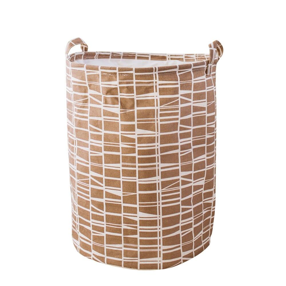 SOLEDI домашнее хранилище корзина для хранения 40*50 см Удобная Чистка грязной одежды корзина одежды полотенца большой емкости игрушки - Цвет: 4