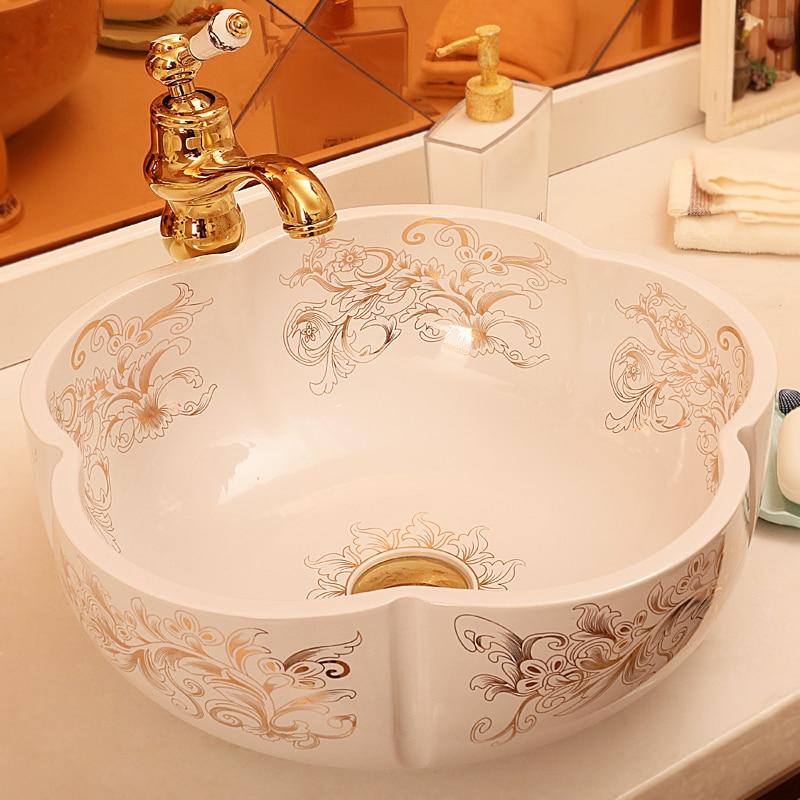 Online Kaufen Großhandel keramik waschbecken schalen aus China ... | {Waschbecken küche keramik 92}
