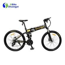 Bicicleta de montaña eléctrica plegable 36v 9ah