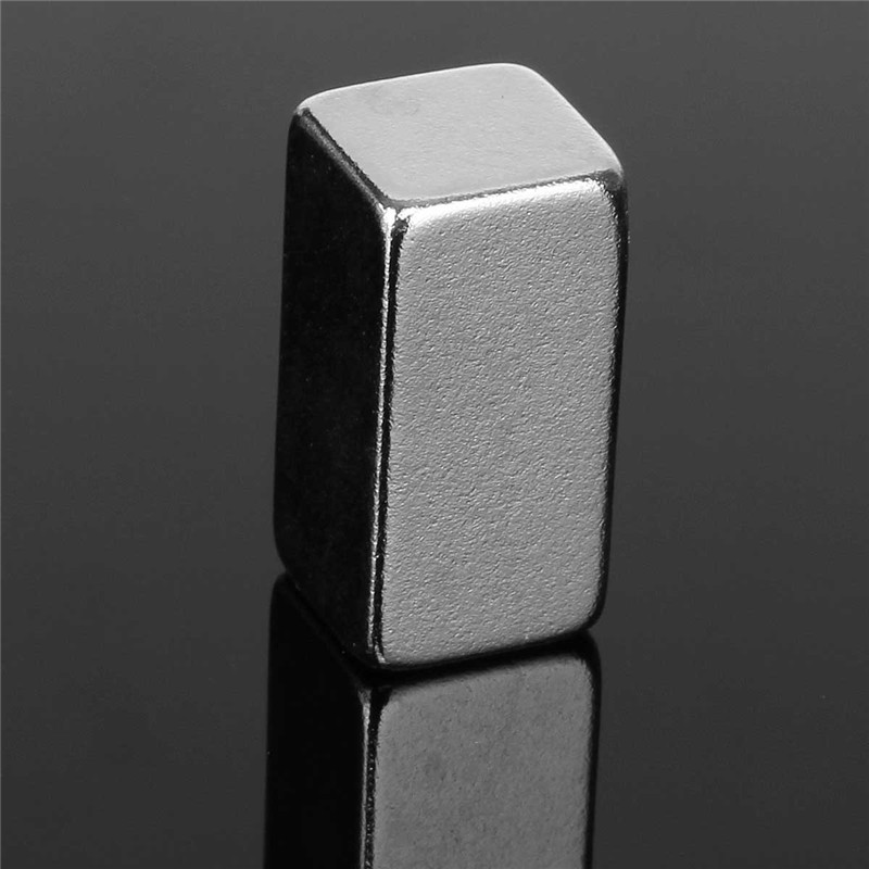 1Pc 20x10x10mm N52 Block Magnets Strong Neodymium Rare Earth Permenent Magnets Square Powerful Magnet m8 block neodymium magnets neodymium recovery magnet with hook strong rare earth magnet metal detector with ring