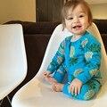 Otoño 2016 Bebé Ropa Traje Piña Monos del Niño de la Muchacha Ropa de Algodón Pijamas Del Bebé Ropa de Bebé de Una Pieza Del Mameluco