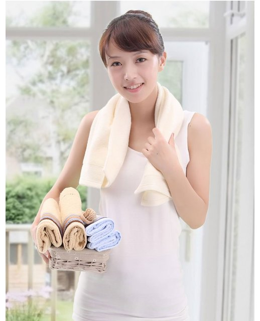 Free shipping ! wholesale factory  price 33*72cm 5pcs/lot 100% cotton absorbent soft towel ,face cloths,washer towel,hand towel