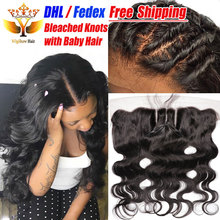 Customized frontal ear cheap to full lace closure human brazilian baby