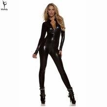 Stripper Metallic Wet Clubwear
