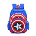 Nuevos vengadores capitán américa estilo de dibujos animados mochilas mochilas escolares para niños bolsas de hombro mochila infantil ZZ214